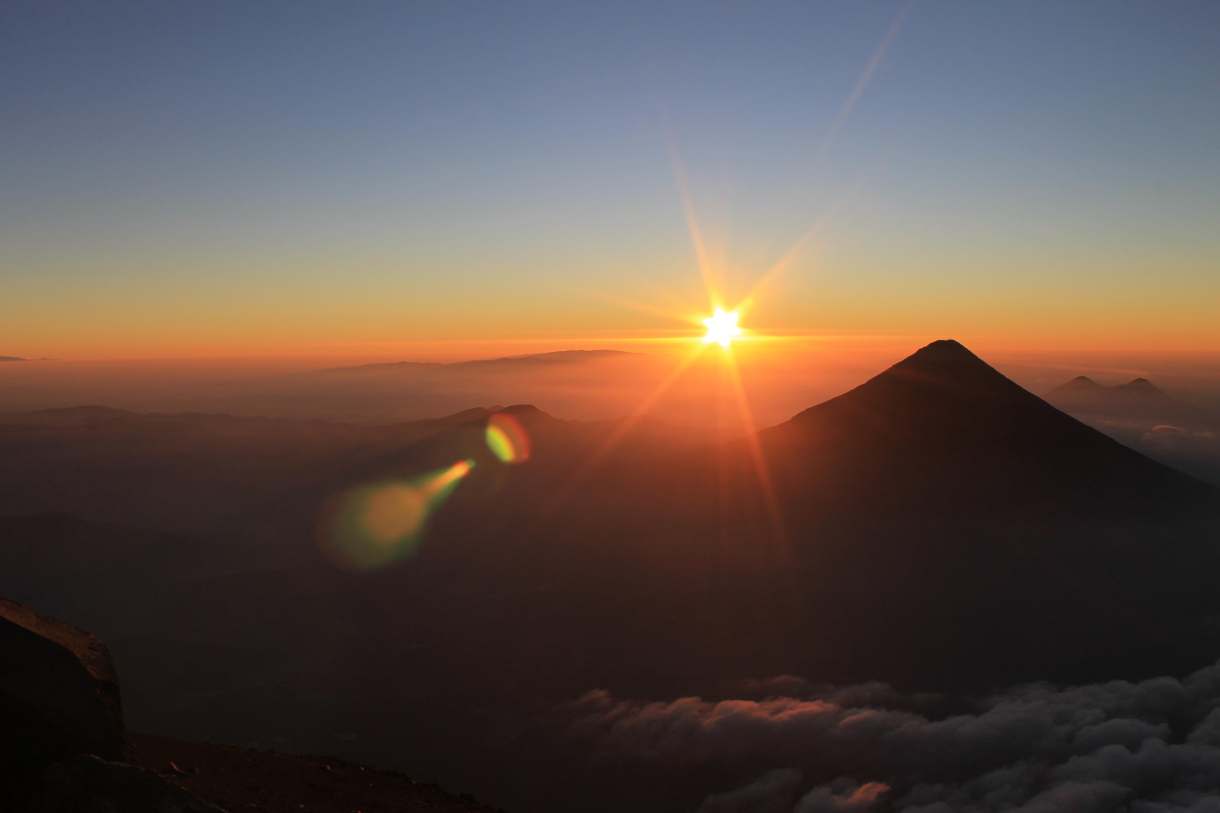 Story of the Month - Sunrise on Acatenango
